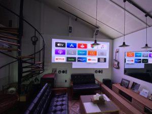 DEPT ショールーム展示 LED VISION