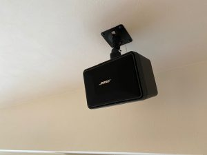 BOSE101を使ったリビングシアター